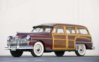 Обои Desoto Custom Suburban Station Wagon '1949