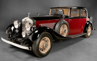 Обои Rolls-royce Phantom Touring Saloon By Park Ward (ii) '1934