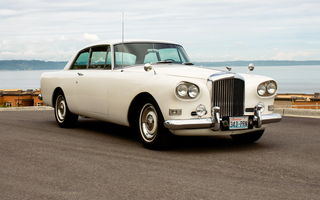 Обои Bentley S003 Continental Coupe By Mulliner & Park Ward '1964