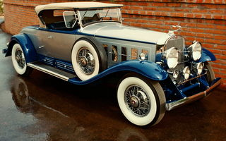 Картинка Cadillac V016 452-452-a Roadster By Fleetwood '1930–31
