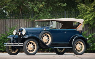 Обои Ford Model A Deluxe Phaeton '1931