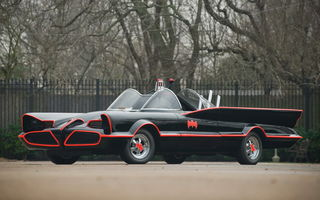 Обои Lincoln Futura Batmobile By Barris Kustom '1966