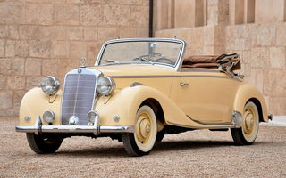 Обои Mercedes-benz 170s Cabriolet A '1949–51