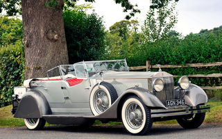 Обои Rolls-royce Phantom Dual Cowl Sports Phaeton By Whittingham & Mitchel (ii) '1930