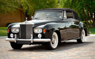 Обои Rolls-royce Silver Cloud Drophead Coupe (iii) '1962–66