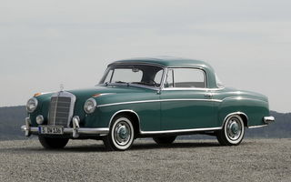 Обои Mercedes-benz S-klasse Coupe (w180-128)