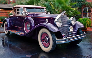 Обои Packard Deluxe Eight Roadster '1930–31