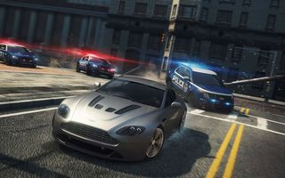 Картинка Need for speed, 2012, MW, NFS, police, cars, Aston Martin V12 Vantage, Most Wanted