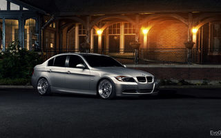 Картинка BMW, 3 Series, Sedan, 335xi, E90, silvery