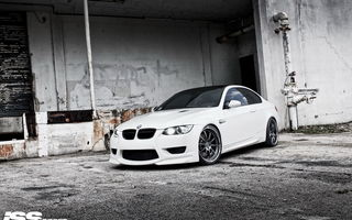 Обои BMW, e92, ISS forged, M3
