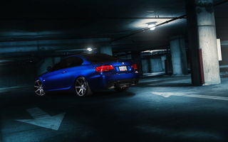 Картинка bmw, 335i, blue, e92, graphite, matte