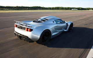 Обои Hennessey, speed, supercar, Venom GT, задок, машина