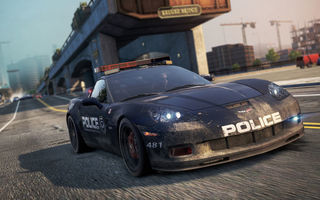 Картинка Need for speed, cop, Chevrolet Corvette Z06, police, Most Wanted, auto, 2012, game