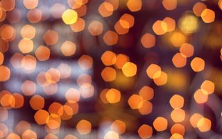 Обои bokeh, lights, macro