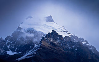 Обои argentina, snow, nature, blue, cerro solo, calm, south america, patagonia, dreamscape, peaceful, moutain, landscape, storm