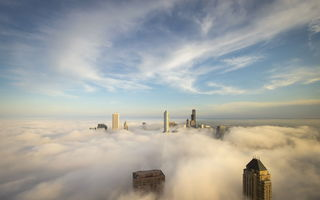 Обои Cloud City, Chicago, город
