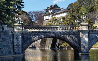 Обои Imperial Palace, Nijubashi Bridge, Japan, Императорский дворец, Япония, Tokyo, Токио, мост