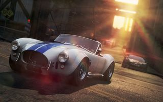 Обои Need For Speed MostWanted 2, гонка, город, Shelby Cobra, Chevrolet, погоня, полиция