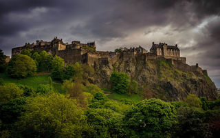 Картинка scotland, edinburgh castle, great britain, edinburgh, west end