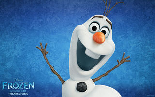 Обои Frozen, 2013, Walt Disney, Animation Studios, olaf, Холодное Сердце