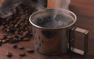 Обои miscellaneous coffe, кофе, зерна, чашка, cup of black coffe