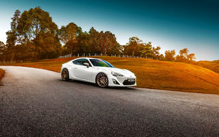 Обои Car, Toyota, White, Photoworks, Shade, Sport, GT86