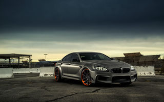 Обои Coupe, Black, Matte, JC Customs, Gran, BMW, Front
