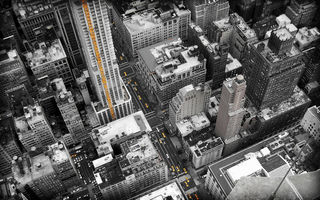 Обои new york, высота, здания, houses, 2560x1600, buildings, машины, Город, cars, улицы, дома, streets, hight, city