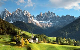Картинка dolomites, italy, mountains