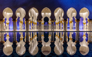 Обои city, capital, Мечеть шейха Зайда, столица, UAE, Абу-Даби, United Arab Emirates, Sheikh Zayed Grand Mosque, ОАЭ, Abu Dhabi, город