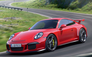 Обои supercar, red, Porsche, 911 GT3