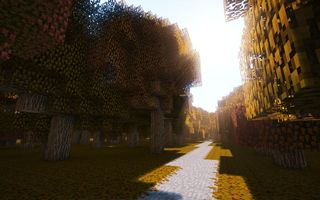 Обои Minecraft, game, autumn