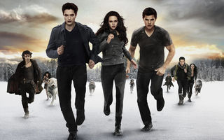 Картинка Bella, Taylor Lautner, Saga Breaking, Dawn Part 2, movie, screen, room, Edward, The Twilight Saga Breaking Dawn Part 2, Jacob, Kristen Stewart, Saga Breaking, Twilight, Part 2, movies, Swan, Black, The Twilight, entertainment, Robert Pattinson