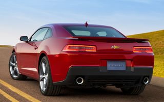 Обои Chevrolet, SS, 2013, red, sportcar, Camaro, car