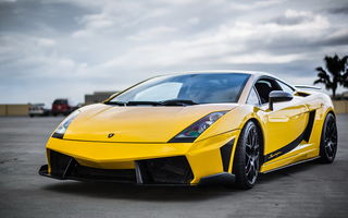 Картинка Lamborghini, Superleggera, Gallardo, передок, Supercar, Yellow