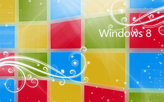 Обои windows, лого, логотип, windows 8