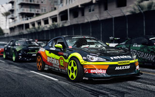 Обои toyota gt86, тюнинг, тойота, Formula Drift, Long Beach