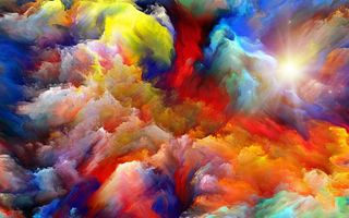 Обои sky, colors, abstact, color explosion