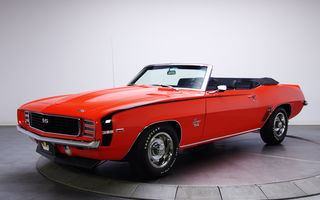 Обои 326, RS/SS, Chevrolet, Convertible, Camaro, 1969