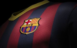 Обои Fc Barcelona, New Kit, Football, 2013/14, ФК Барселона, Клуб, Новая форма, Футбол, Барса, Barca