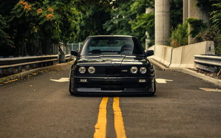 Картинка Coupe, Black, BMW, E30, M3