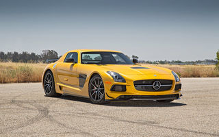 Обои mercedes, amg, sls, black series