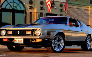 Обои Mustang, Ford, 1971 Ford Mustang