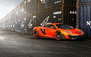 Картинка McLaren MP4-VX, Vorsteiner, tuning, frontside, MP4-12c, car
