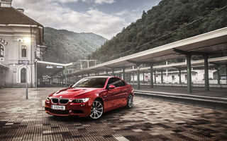 Картинка E92, red, M3, Tuning, BMW, coupe