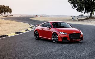 Обои Audi, Track, RS, German, TT, Red, 2018