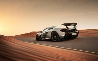 Обои McLaren, Скорость, Hypercar, Дорога, Пустыня, Supercar, Desert, Road, P1, Speed