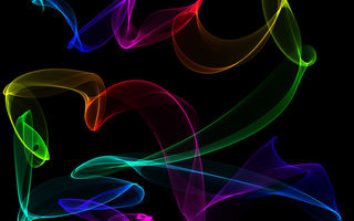 Обои colors, neon, fractal, abstract