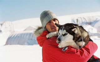 Обои Белый плен, Eight Below, Пол Уокер, Jerry Shepard, Paul Walker