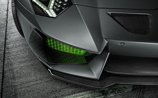 Картинка Lamborghini, Limited, Green, 2014, Bumper, HAMANN, LP700-4, Front, Aventador, Ligth